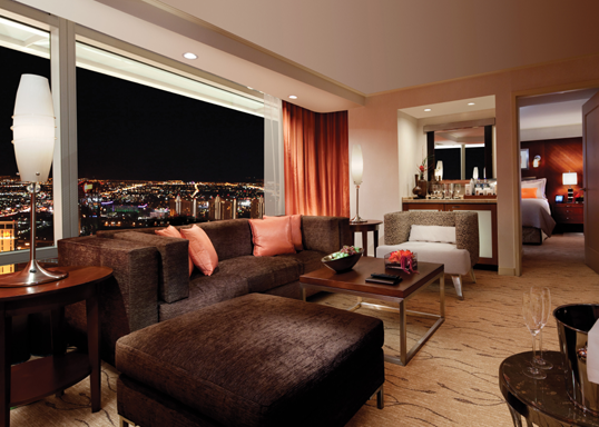 ARIA Bedroom Corner Suite - Avec l'aimable autorisation de MGM MIRAGE