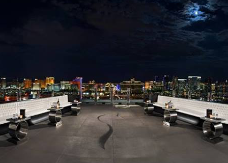Ghostbar Las Vegas view