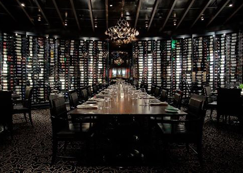 Jean Georges Wine Wall