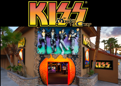 Kiss Monster Mini Golf Facade