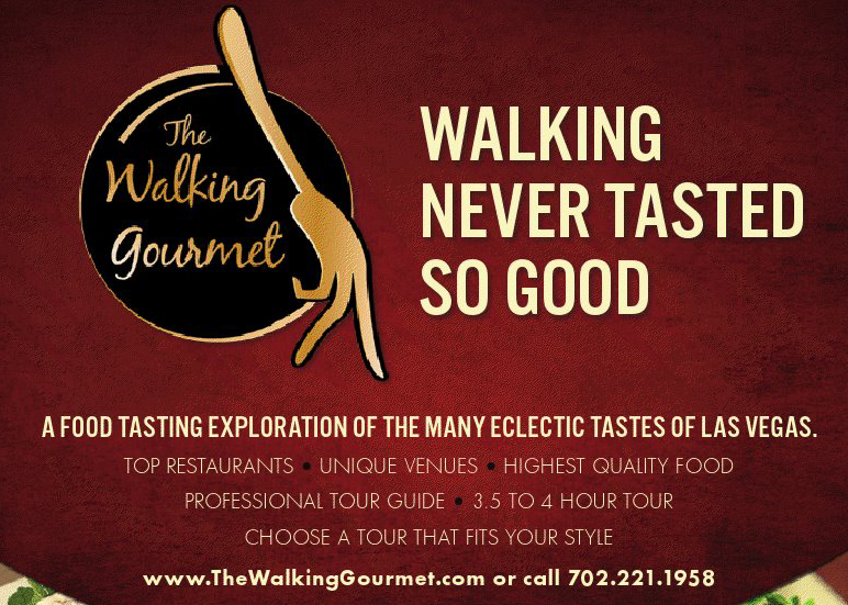 Walking Never Tasted